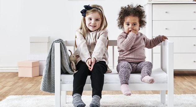 Praktische Wiege Kids Heaven umbaubar zur Kinderbank