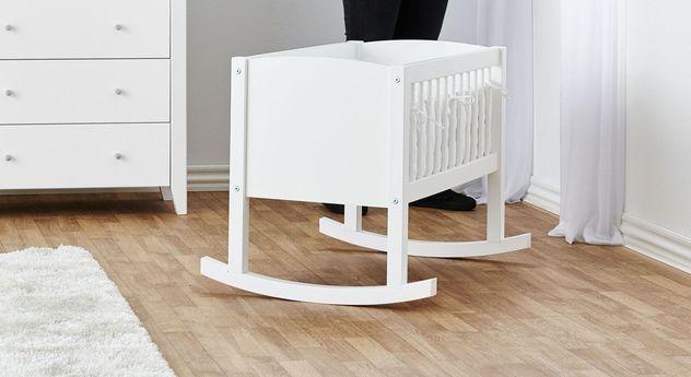 Moderne Wiege Kids Heaven in Weiß