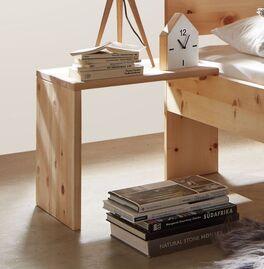 Zirben-Nachttisch Bondone aus Massivholz