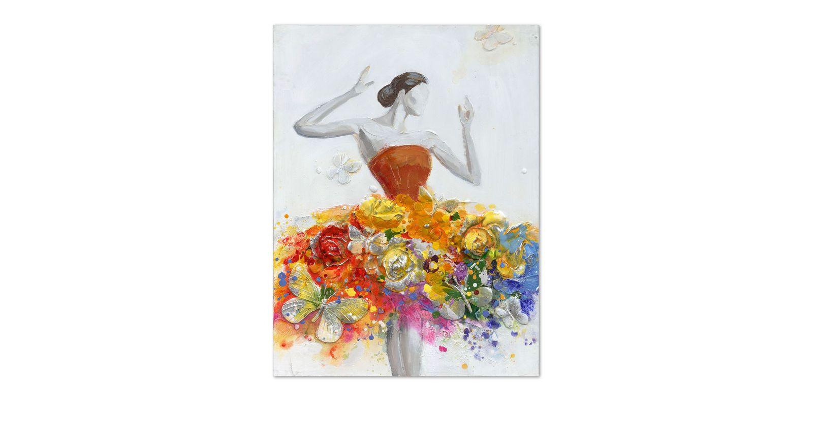 Wandbild Butterfly mit fantasievollem Motiv