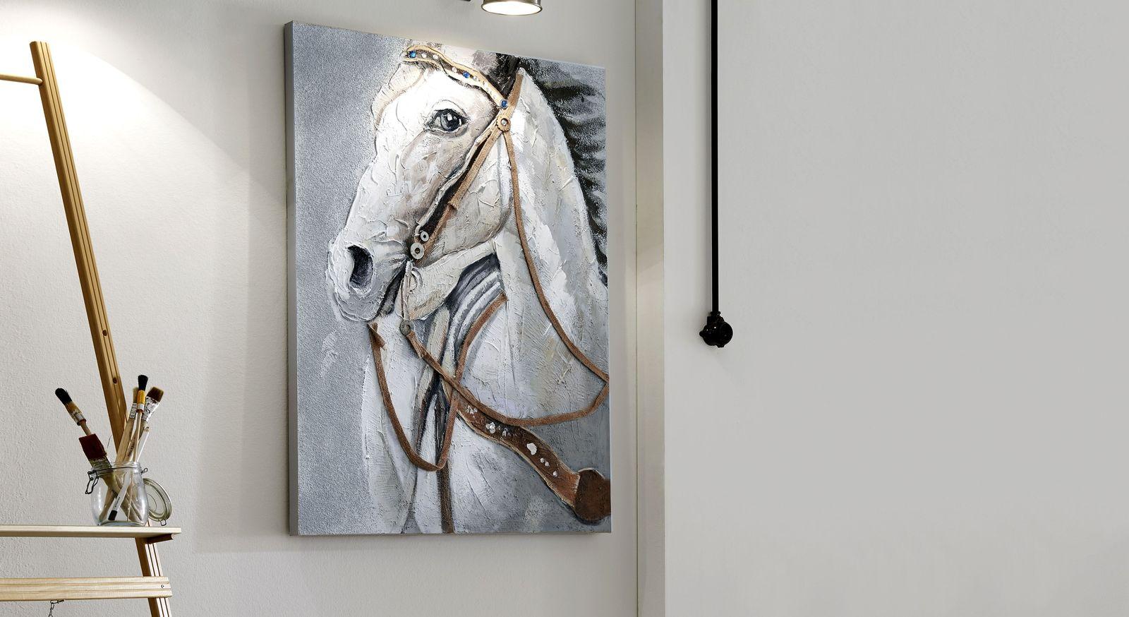 Handgefertigtes Wandbild Horse online erhältlich