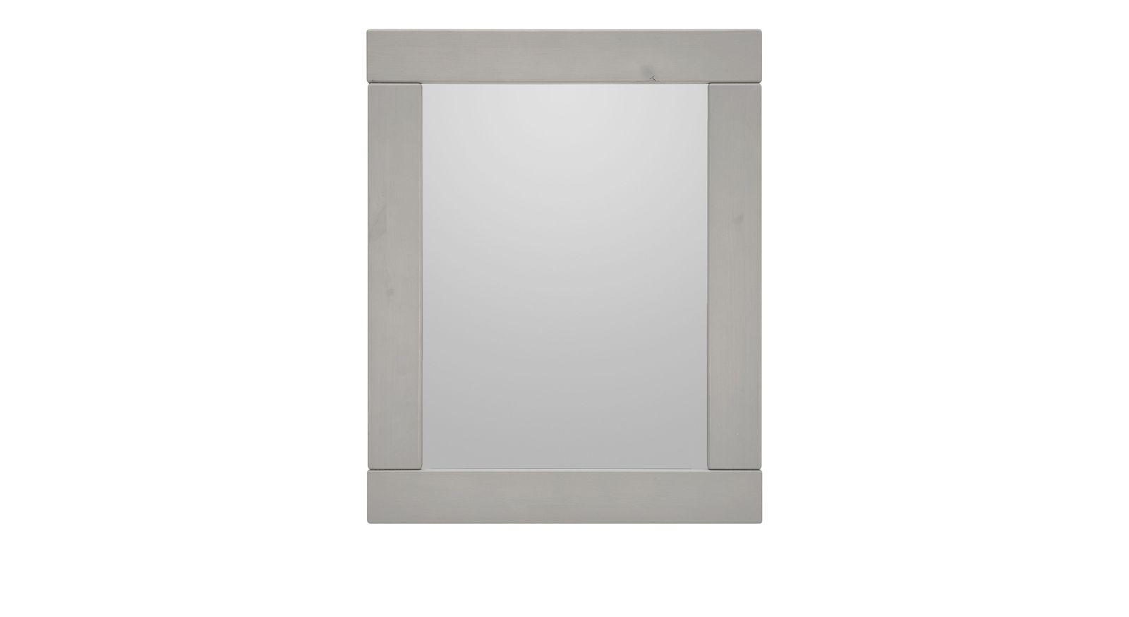 LIFETIME Wandspiegel Original grau lasiert