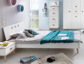 Weißes Jugendzimmer Komplett Im Skandinavischen Design Beano