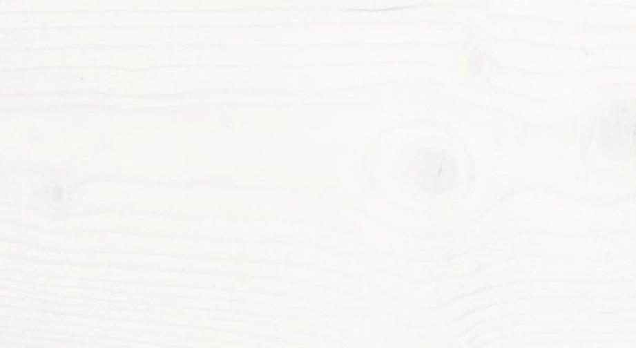 Leichte Holzstruktur bei weiß lackiertem Kiefernholz