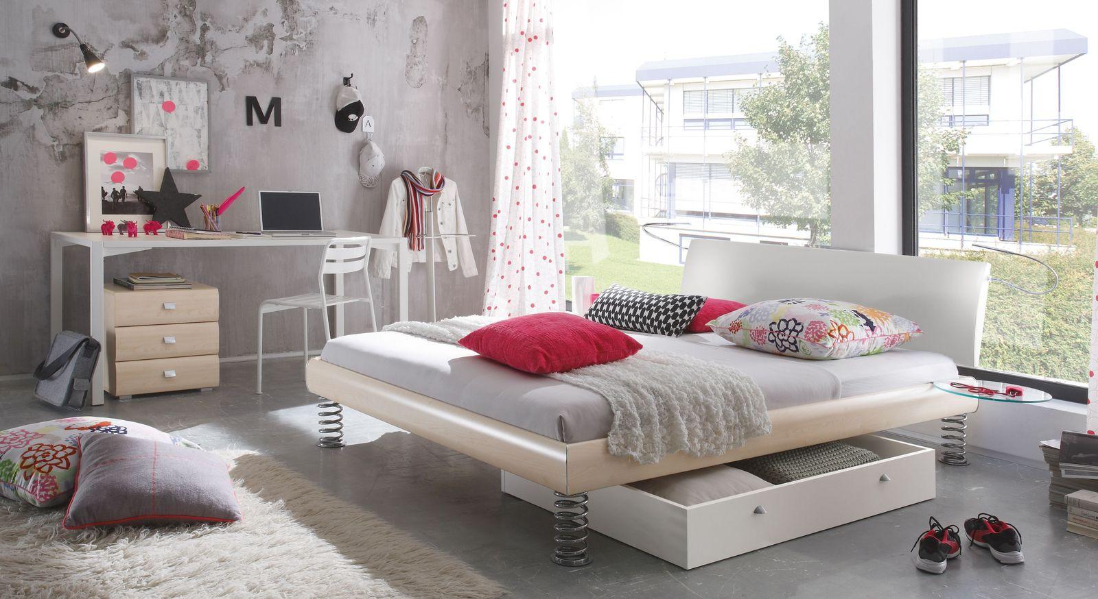 Bett Wereda mit passenden Produkte