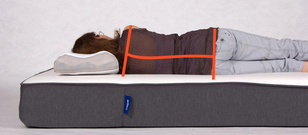 der gro e der one fits all matratzen. Black Bedroom Furniture Sets. Home Design Ideas