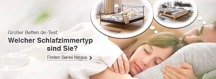 Schlafzimmertyp-Test