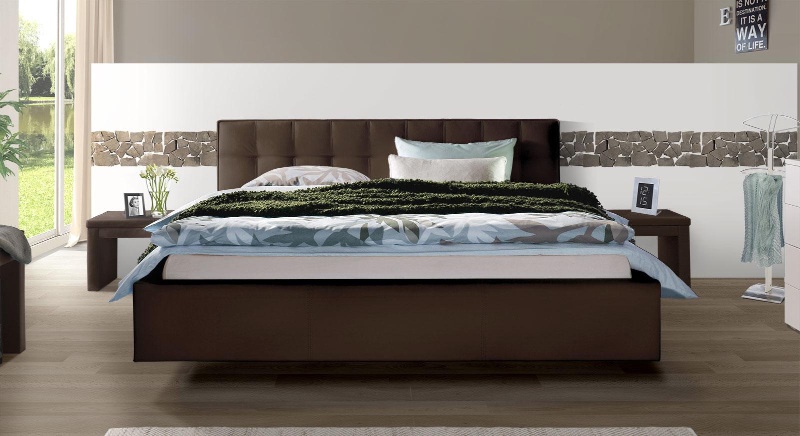 lederbetten im online test und vergleich 2018 auf. Black Bedroom Furniture Sets. Home Design Ideas