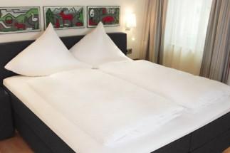 Boxspring-Hotelbett