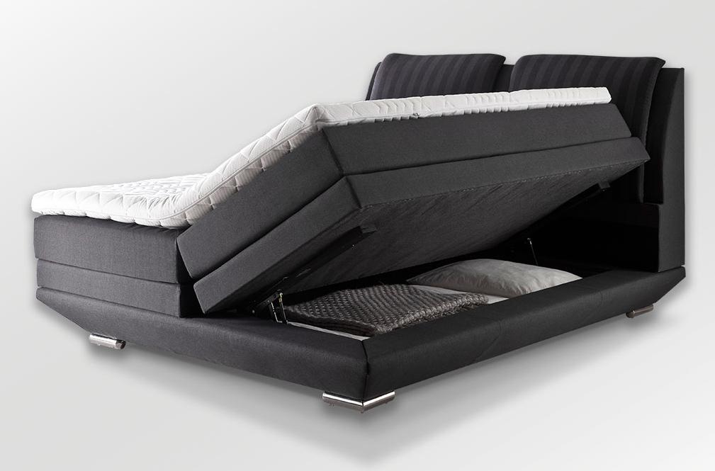 Boxspringbetten mit Bettkasten - Wie sinnvoll ist diese Variante?