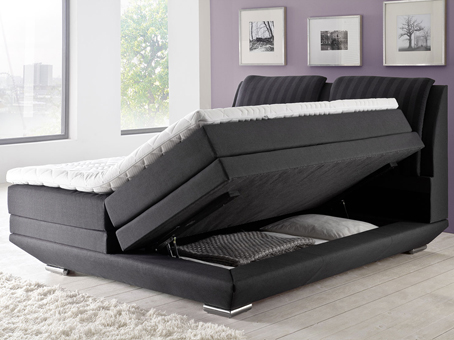 boxspringbetten mit bettkasten wie sinnvoll ist diese. Black Bedroom Furniture Sets. Home Design Ideas