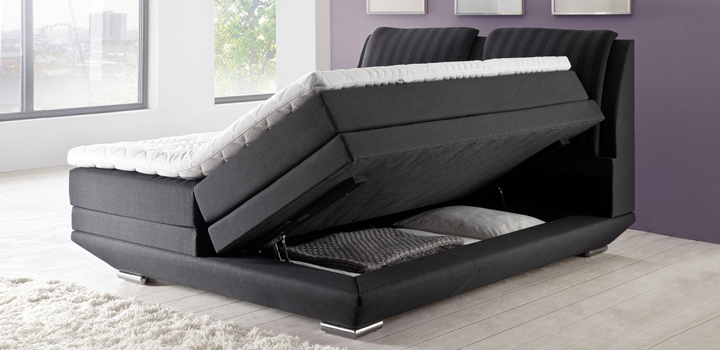 boxspringbetten mit bettkasten wie sinnvoll ist diese variante. Black Bedroom Furniture Sets. Home Design Ideas