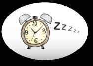 Zeichnung eines Weckers