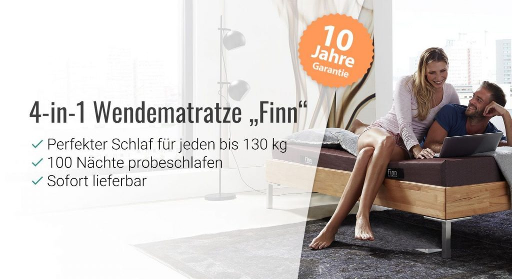 die wendematratze finn f r jede schlafposition exklusiv bei. Black Bedroom Furniture Sets. Home Design Ideas
