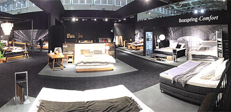 schlafzimmertrends 2015 2016 von der m belmesse in k ln. Black Bedroom Furniture Sets. Home Design Ideas