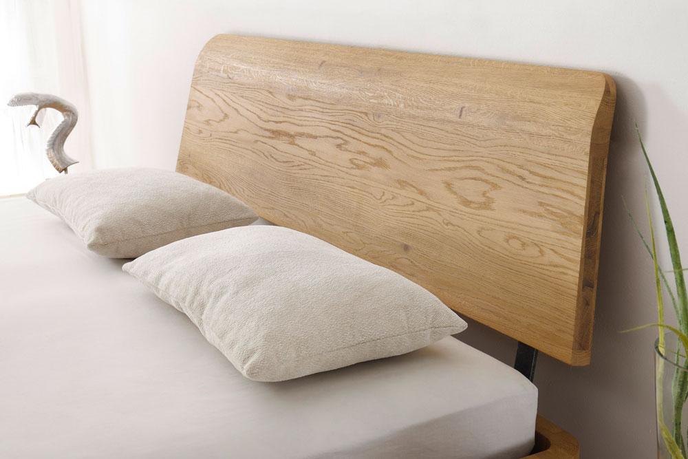gerundetes kopfteil aus massivholz - Wie Man Ein Kopfteil Baut