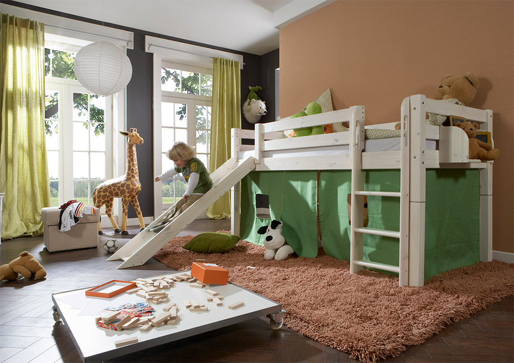 hochbetten f r das kinderzimmer erfahrungswerte. Black Bedroom Furniture Sets. Home Design Ideas