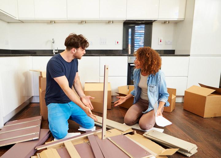 aufbauservice f r m bel von. Black Bedroom Furniture Sets. Home Design Ideas