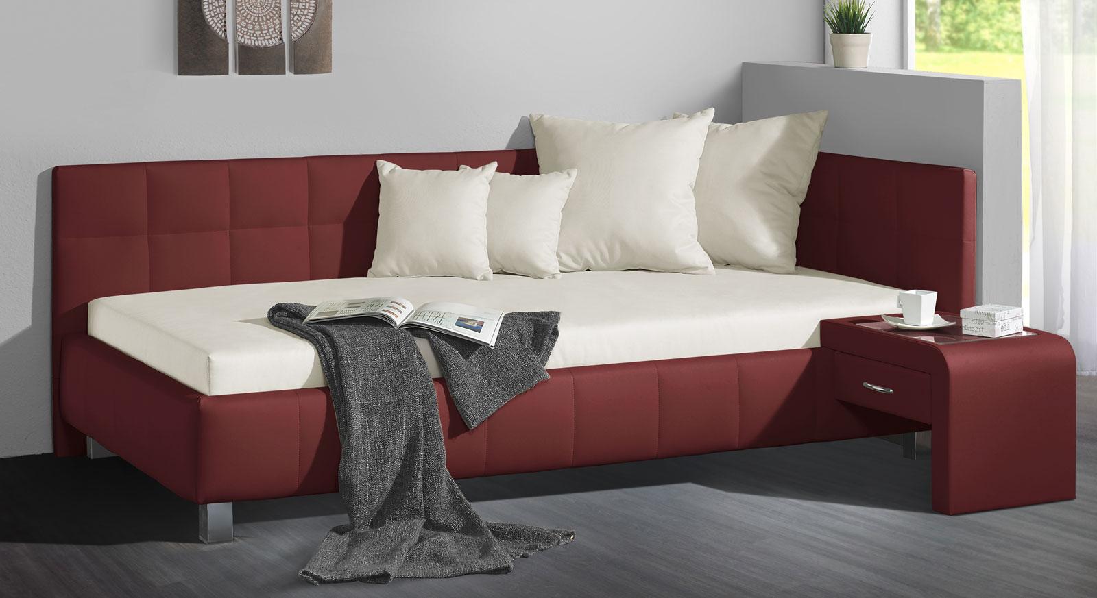 wohnliche polsterliegen im test und vergleich 2018. Black Bedroom Furniture Sets. Home Design Ideas