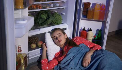Schlafbezogene Essstörung - Essen im Schlaf